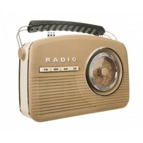 Радиоприемник ретро Camry Budapest Beige (AM/FM/LW/SW)