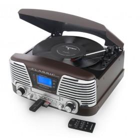 "Ретро музыкальный центр Ricatech ""Classic 1965"" Brown"