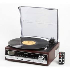 "Виниловый ретро-центр Camry ""Turntable 1973"" (SD/MMC/USB)"