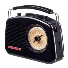 Радиоприемник ретро Playbox Budapest Black